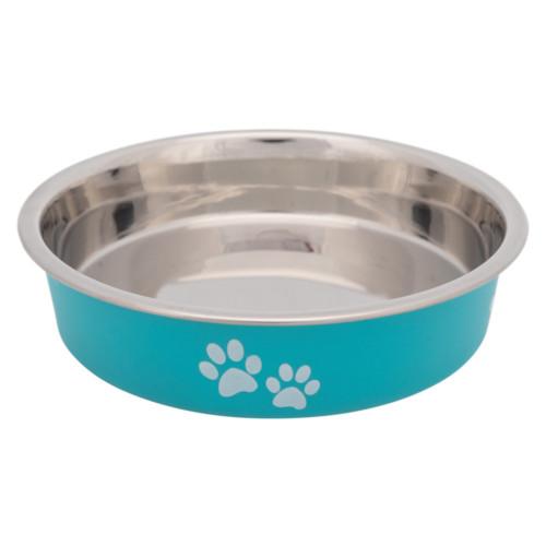 Matskål för kortnosiga katter rostfri 0.