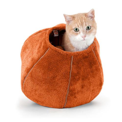 Cat Cave kattgrotta orange