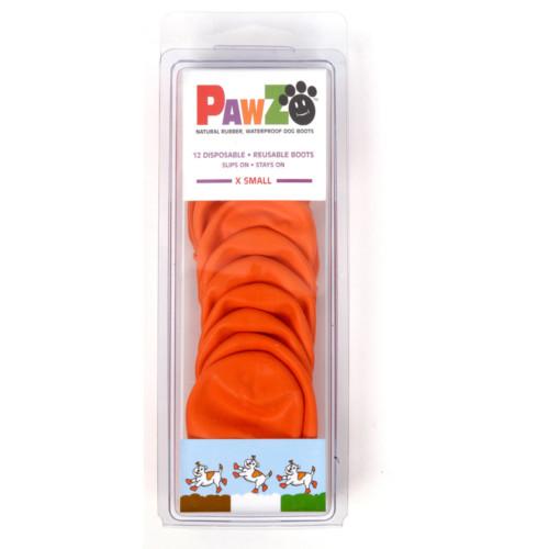 Pawz hundsko, X-small, 5,1cm orange 12st