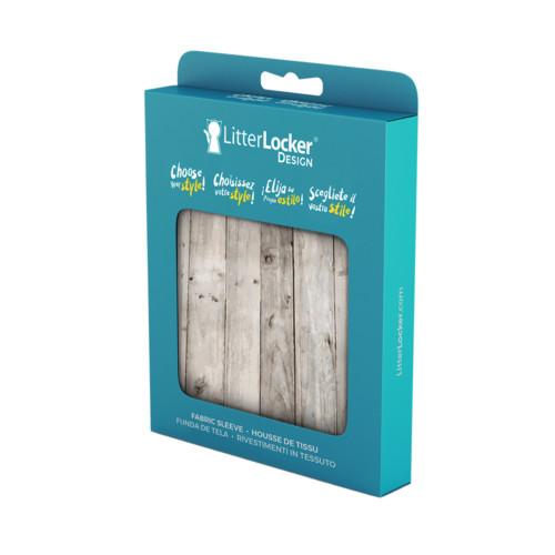 LitterLocker Design Sleeve wood