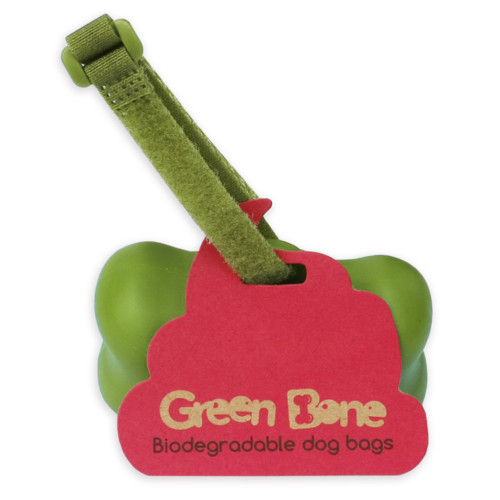 Green Bone Hållare Scent 1 rulle/ 15 påsar