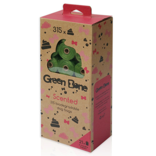 Green Bone 15 Påsar scented