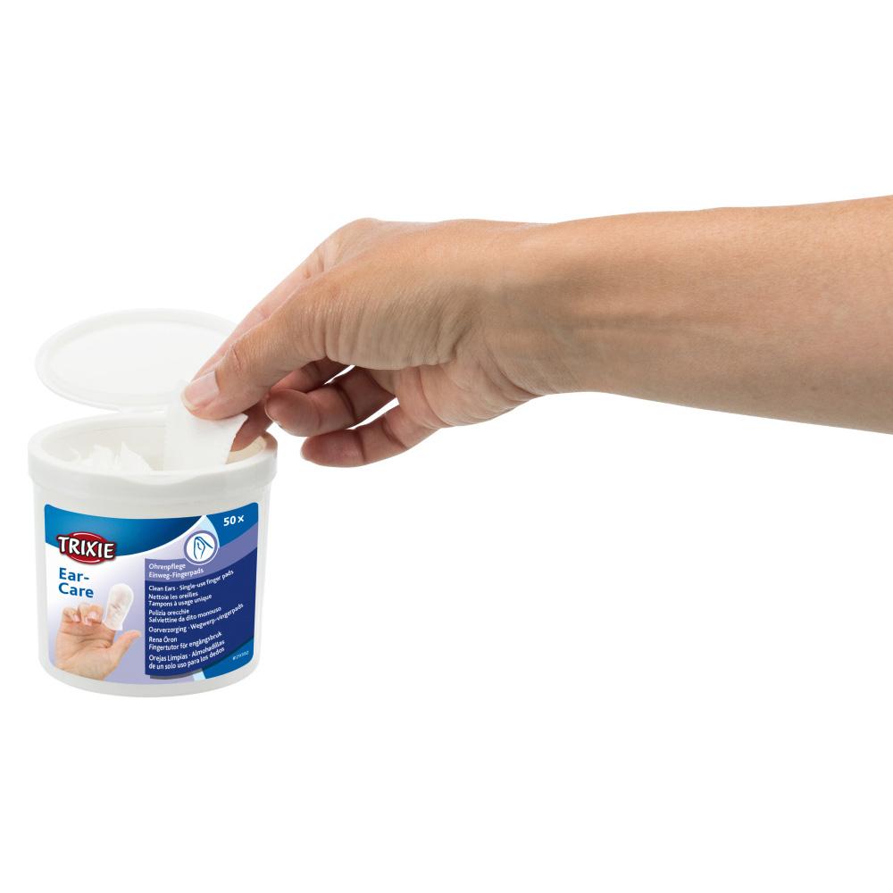 Fingerpads Aloe Vera, för öronvård, 50 st