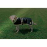Hundtäcke Orleans Reflex/Fleece Svart 55