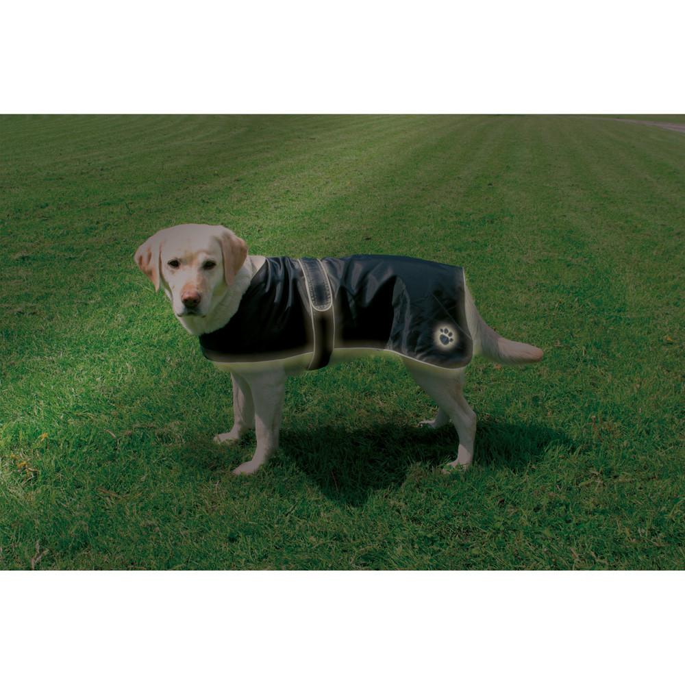 Hundtäcke Orleans Reflex/Fleece Svart 60