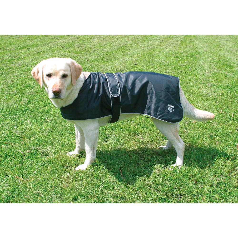 Hundtäcke Orleans Reflex/Fleece Svart 70