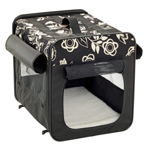 Smart top floral, soft crate 35 x 31 x 2