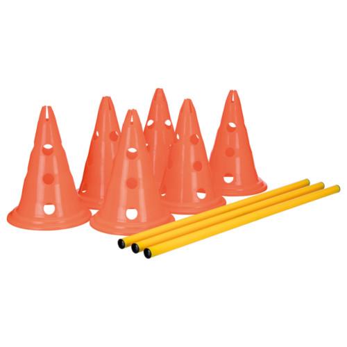 Dog Activity Hinderset, ø 23 × 30 cm , 78 cm, orange & gul