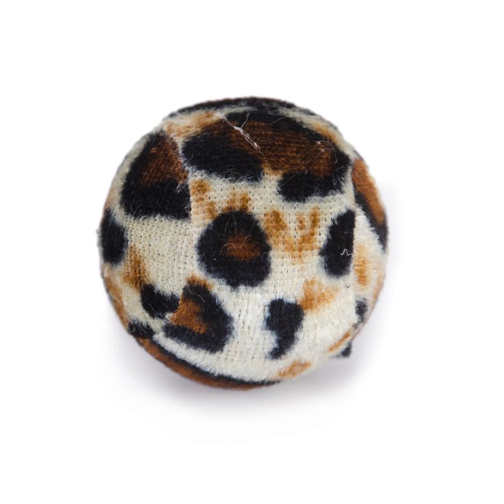 Kattleksak boll Safari 4 cm