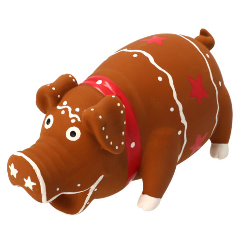 Hundlek Jul Pepparkaksgris 15 cm