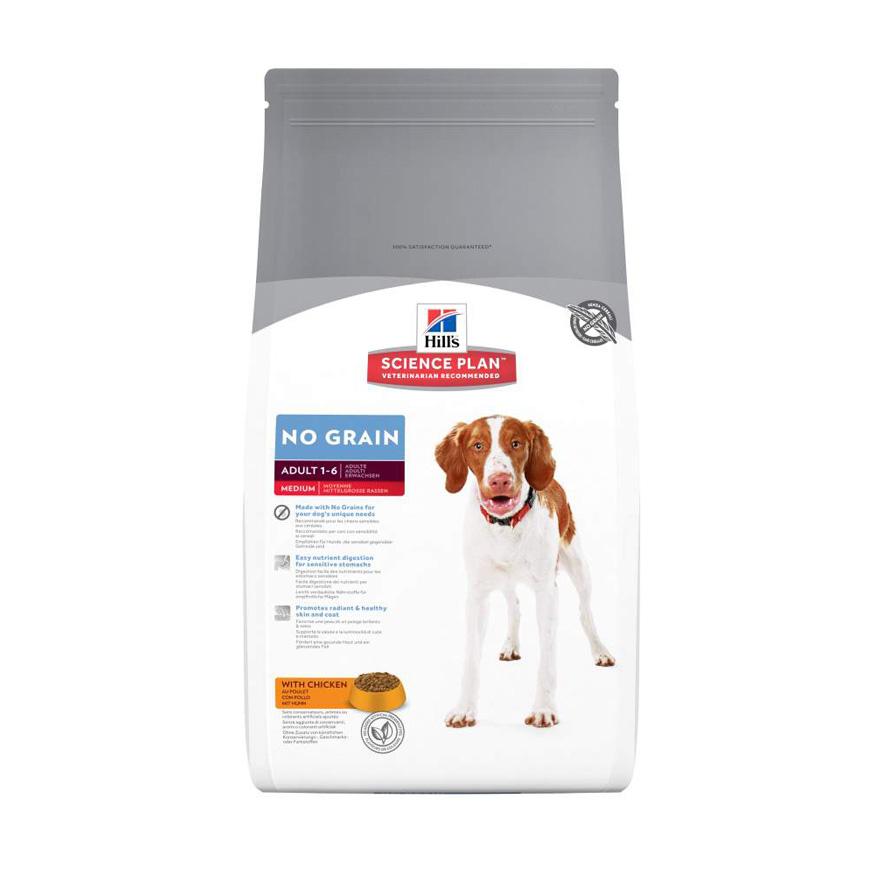 Hills Canine Adult No Grain Chicken 12kg