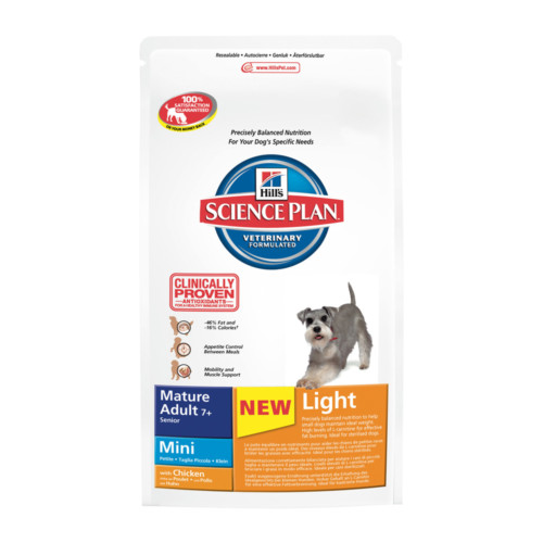 Hills Canine Mature Adult 7+ Mini Light 2,5 kg