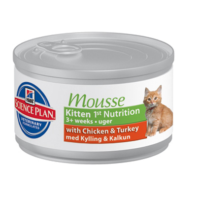 Hills Kitten Gentle Mousse 85g burk