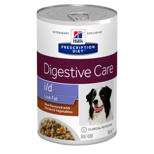 HillsVet PDC i/d Low fat Stew 354g burk