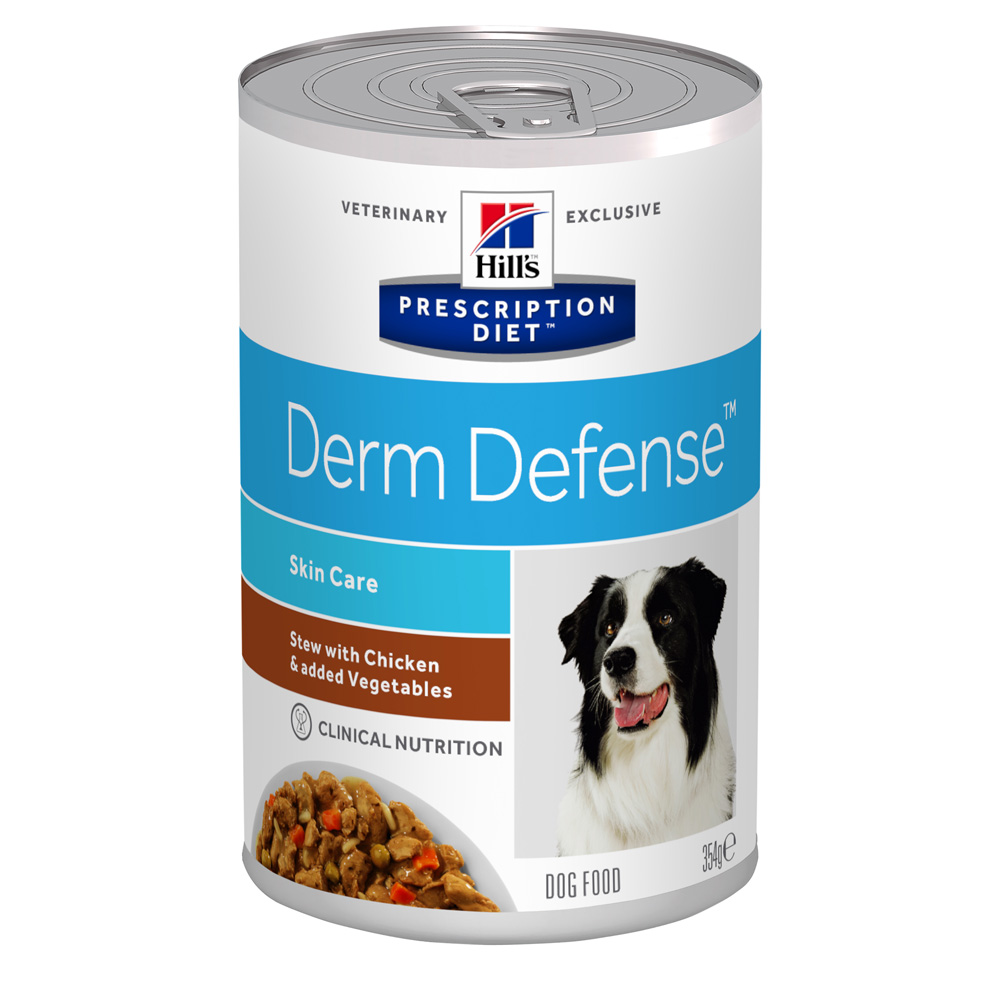 HillsVet PDC Derm defense Stew 354g burk