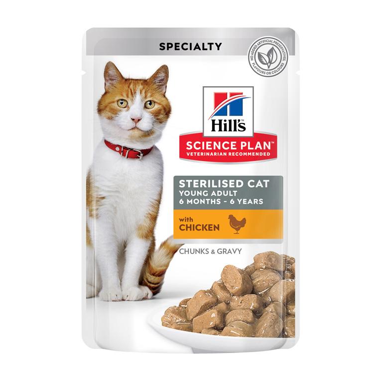Hills Feline Sterilised Fav. Selection 12x85 g Multipack