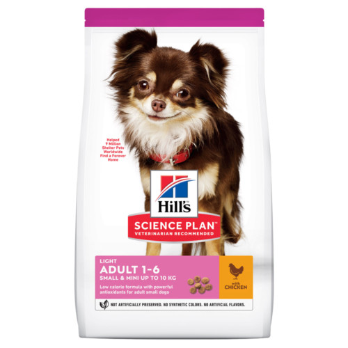 Hills Canine Adult Light Small&Mini Chicken 6kg