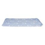 Anchor filt 100x70 cm blå/vit