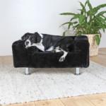 Soffa King of Dogs 78 × 55 cm svart
