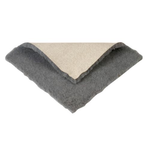 KRUUSE Vet-bed hundfilt anti-slip grå 48