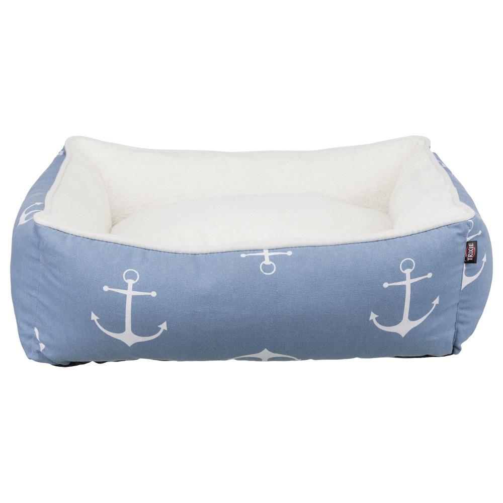 Anchor bädd 80x65 cm blå/vit