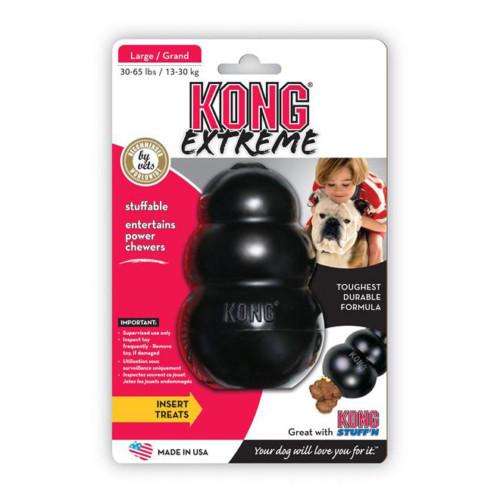 Kong Original leksak svart Xl [UXLE] 1st