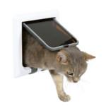 Kattdörr Freecat De Luxe 4-vägs Vit/Tran