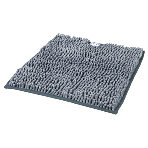 Kattlådematta mikrofiber 38 × 38 cm grå