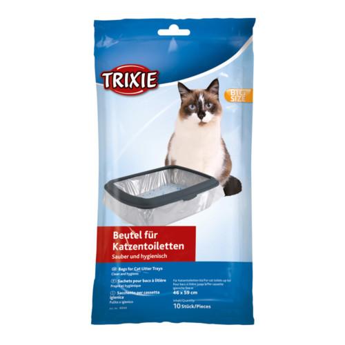 Kattlådspåsar L 46x59 cm 10-pack