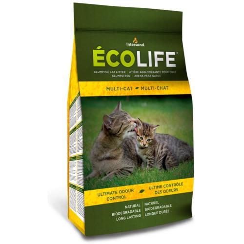 UTGÅR EcoLife Orginal kattströ 4,54kg