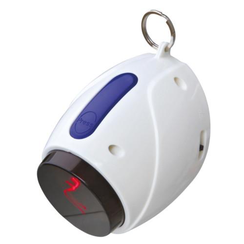 Laser-Pointer Moving Light 11 cm vit/blå