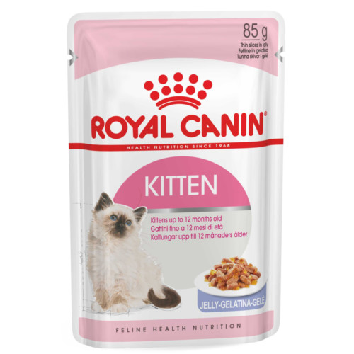 FHN Kitten Jelly 12x85g