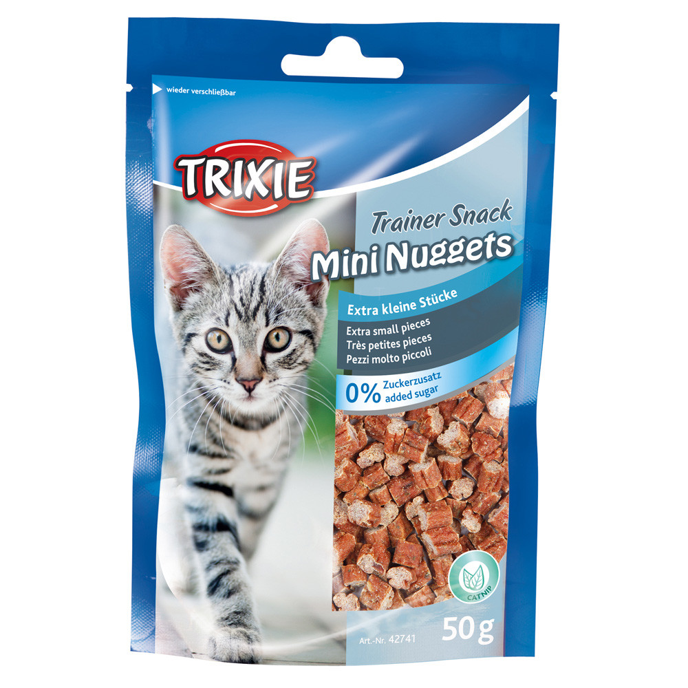 Trainer snack mini nuggets m mynta 50g