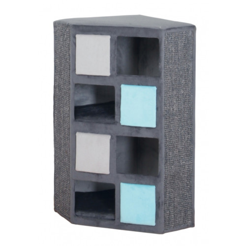 Cat Tower Pino 79 cm grå/ljusgrå/turkos