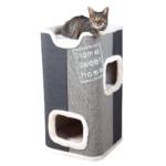 Jorge Katt-torn 78 cm ljusgrå/antracit