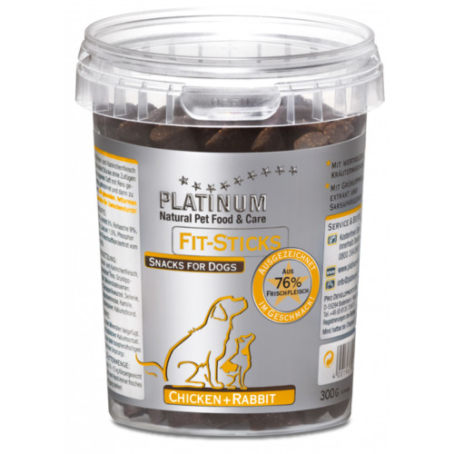 Platinum Fit Sticks Kyckling+Kanin 300 g