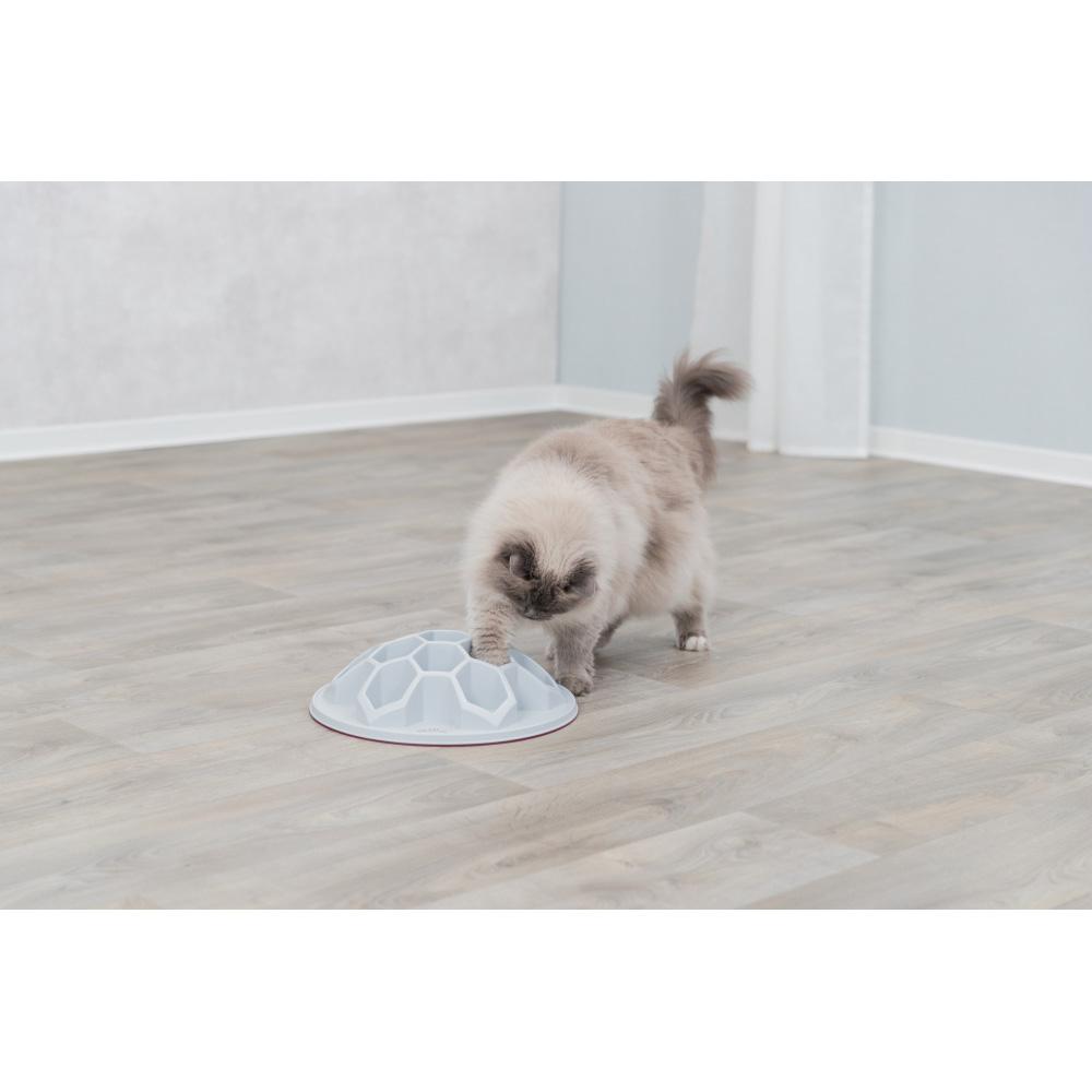 Cat Activity Snack Hive XXL ø 35 cm ljusgrå
