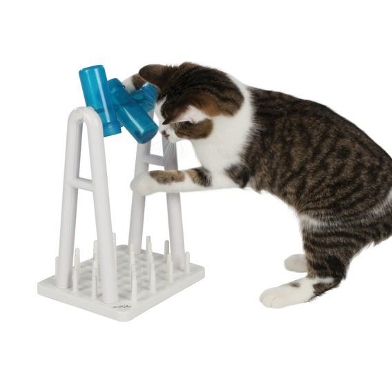Aktivitetsleksak katt TurnAround 22x33x1