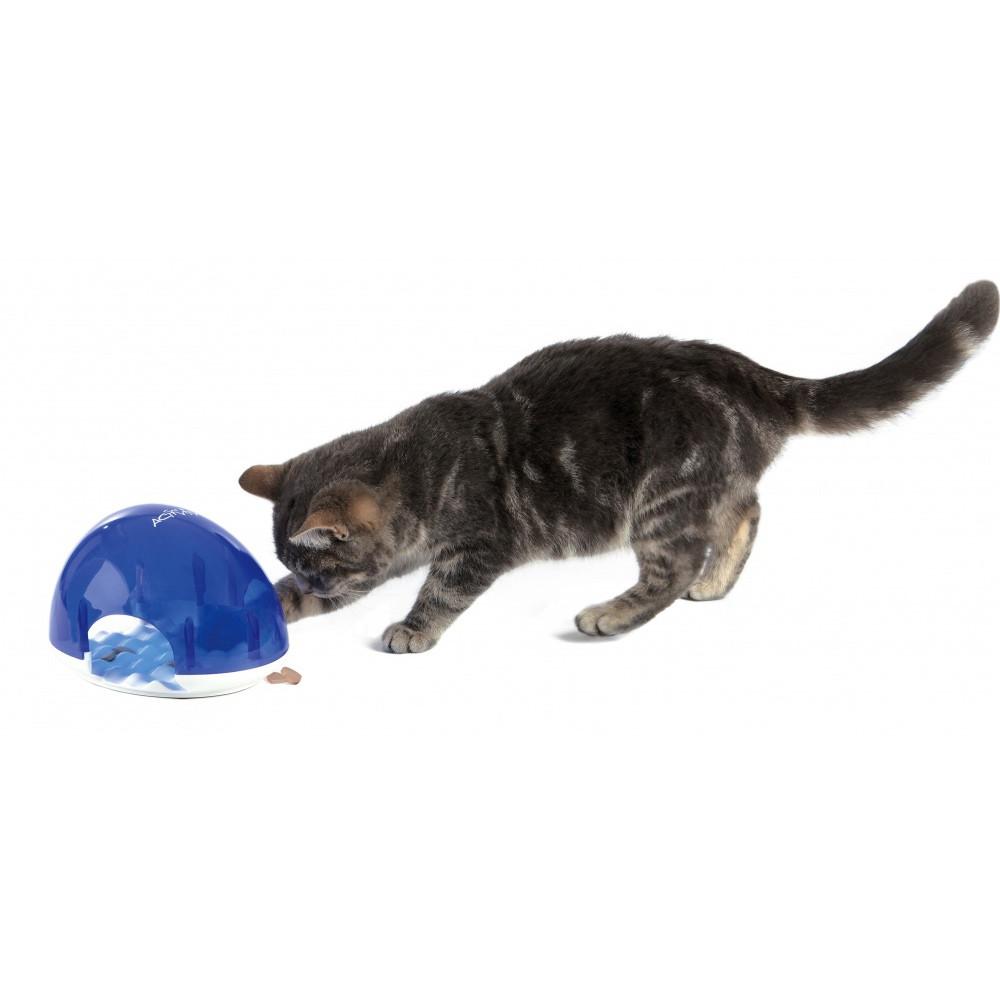 Aktivitetsleksak katt SnackBox 19x13x14 cm