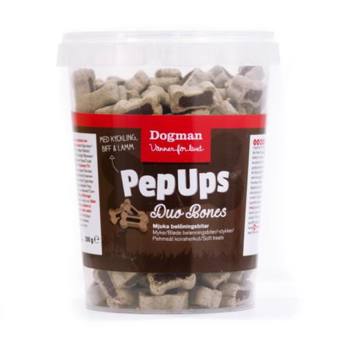 Pep Ups Duo Bones 3-smak 300g