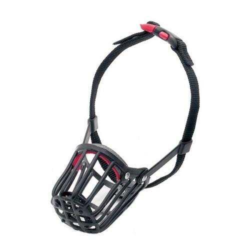Plastic muzzle size 3, black