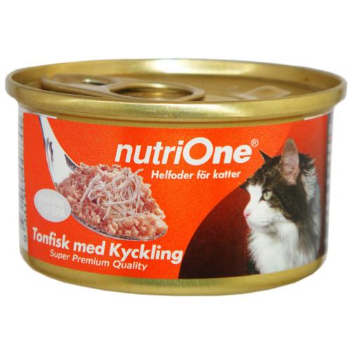 UTGÅTT NutriOne Tonfisk & Kyck 85g