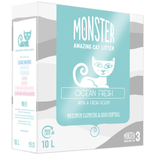 Monster Ocean Fresh 10 L