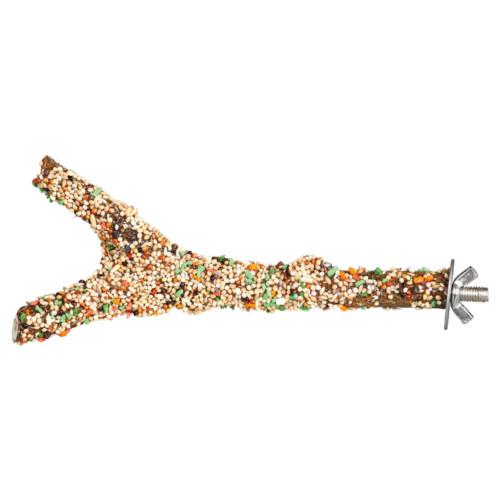 Utgått Sittpinne med frö och frukter, 20 cm/ø 15 mm