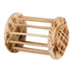 Höhäck/rulle med lock, flamberad, ø 15 × 19 cm