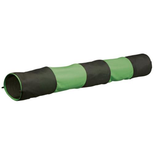 Gnagartunnel grön/grå 130x18 cm