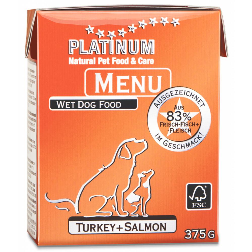 Platinum Menu Kalkon+Lax 375 g