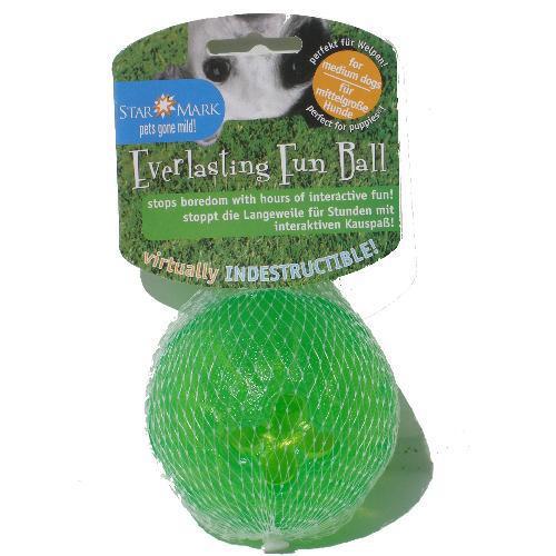Starmark funball grön medium/large 9 cm