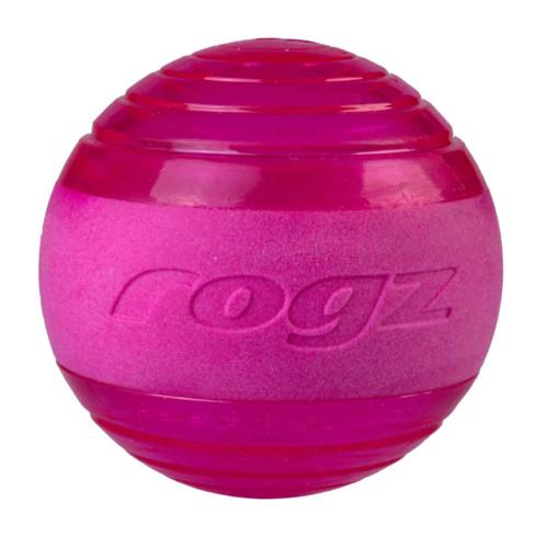 Rogz squeekz ball rosa 6,4 cm