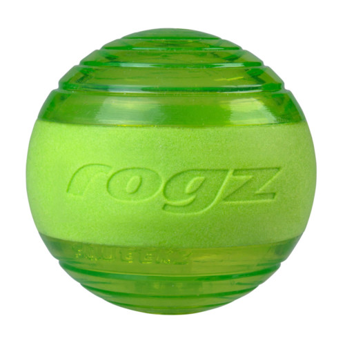 Rogz squeekz ball grön 6,4 cm